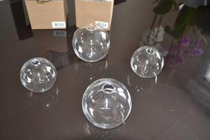 Vases boule soliflore en verre doubs - Vase design pas cher ...