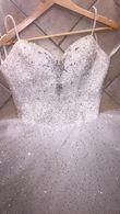 Robe perle et pailette - Occasion du Mariage