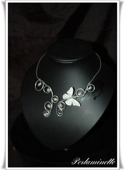 Collier bijoux de mariage créateur 2012 - Occasion du mariage