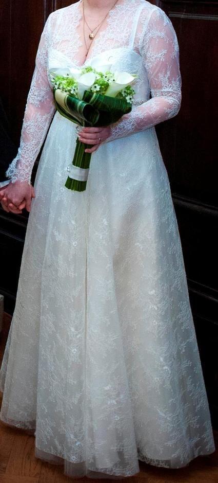 Robe de mariage 2013 confectionnée chez un couturier en Russie