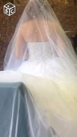Vend magnifique robe avec tout les accessoires  - Occasion du Mariage