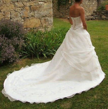 Élégante robe de mariée couturier Miss Kelly 2012 d'occasion