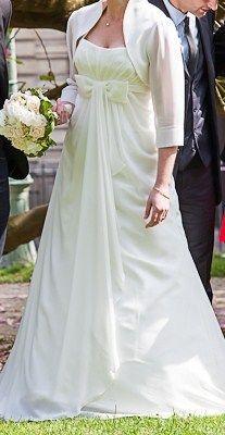 robe de mariée ivoire NATHELIA + accessoires - Occasion du Mariage