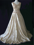 Robe de mariée pas cher fait à la main - Occasion du mariage