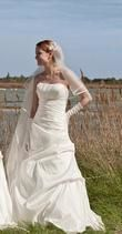 Robe de mariée pas cher + boléro en 2012 - Occasion du Mariage