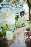 Location bonbonnes en verre avec robinet - Occasion du Mariage