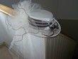 Chapeau neuf ivoire et chocolat - Occasion du Mariage