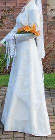 Robe de mariée en soie et dentelle -T38 - Occasion du Mariage