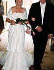 Robe de mariée pas cher Pronovias avec jupon et étole 2012 - Occasion du Mariage