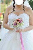 Magnifique robe de mariage blanche modèle princesse - Occasion du Mariage