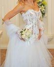 Robe de mariée Serena Max Cahoul T36/38 et access - Occasion du Mariage