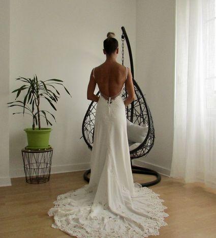 Sublime robe de mariée sirène  - Yonne