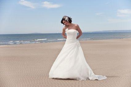 Robe de mariée modèle LIPS de chez Point Mariage