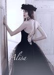 Robe de mariée noir Kristen, creation Alisa - Occasion du Mariage