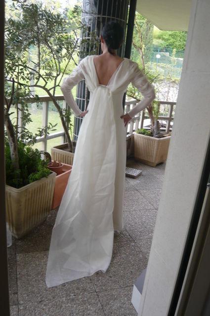 Robe de mariée Créateur Amarildine Paris d'occasion