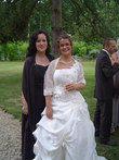 Robe de mariée d'occasion T40 + jupon + étole pas cher - Occasion du Mariage