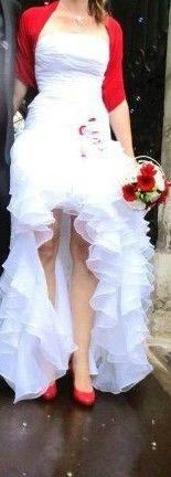 Robe de mariée et jupe organza d'occasion à Bourg en Bresse - Ain