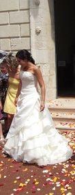 Robe de mariée réalité de chez Alexis mariage - Occasion du Mariage