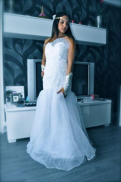 Location de robe de mariée, princesse et soirée avec accessoires