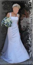 Robe de mariee avec crinoline vague, 2014 - Occasion du Mariage
