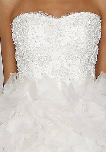 Robe de mariée modèle Bliss de Monique Lhuillier