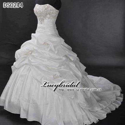 Robe mariée + voile + jupon d'occasion