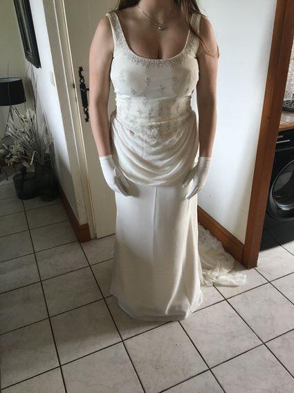 Robe de mariée ivoire - Charente Maritime
