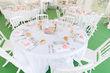 Miroir centre de table - Occasion du Mariage