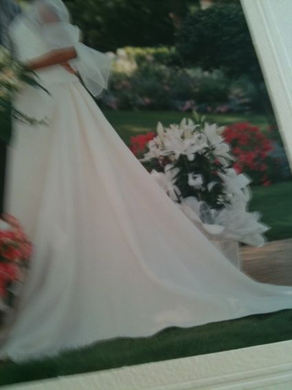 Robe de mariée ivoire pas cher + étole et bijoux - Lyon 2012- Occasion du Mariage