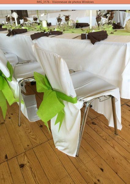 70 housses de chaises en tissu savoie - Housse chaise mariage occasion ...