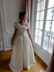 Robe soie naturelle - vintage style romantique - Occasion du Mariage
