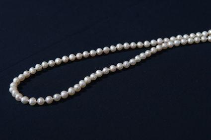 Bijoux / Collier de mariée pas cher en perle blanche et rose - Occasion du mariage