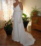 Robe de mariée de la marque Ligne floue de chez Complicité - Occasion du Mariage