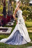 Robe de mariée ELIXIR Ivoire et noir - Occasion du Mariage