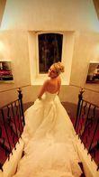 Robe bustier en dentelle - Occasion du Mariage