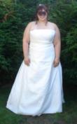 Robe de mariée grande taille 50 52 - Occasion du Mariage