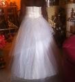 Robe de mariée Sunshine / Ball avec bustier et jupon d'occasion