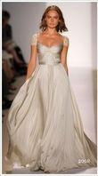 Robe de mariée de la créatrice La Belle Bobine haute couture