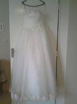 robe de mariée bustier dentelle - Occasion du Mariage