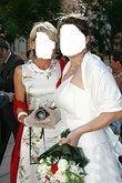 Robe mariée de créateur LAUREN à Lyon avec bustier et jupe en soie