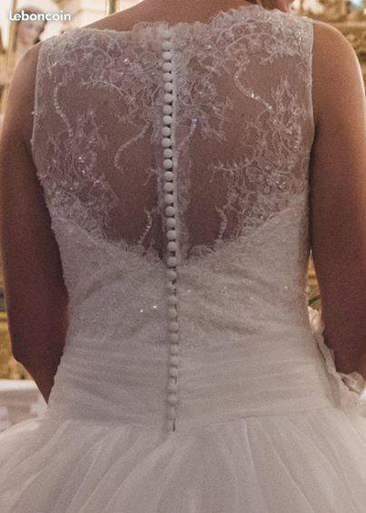 Robe de mariée Rosa Clara taille 38 - Moselle