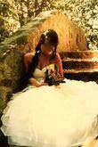Robe de mariée Pronovias d'occasion en soie sauvage