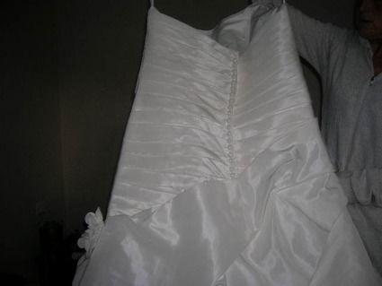 Robe de mariée CUBA, Eglantines Création taille 50/52