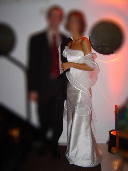 Robe de mariée bustier Suzanne Ermann d'occasion T34-36