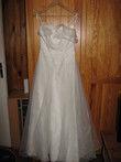 robe de mariée d'occasion taille 38 couleur