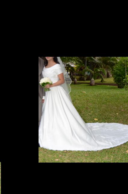 Belle robe de mariée - Réunion