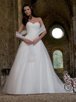 Robe de mariée d'occasion Bergama de chez Divina Sposa T38-40