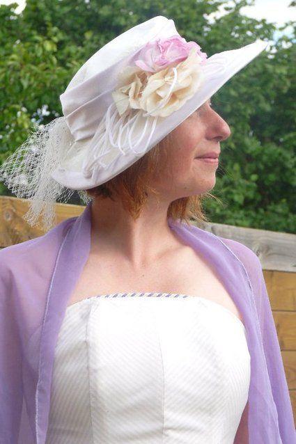 Robe de mariée style cavaliere pas cher style Scarlett avec bustier