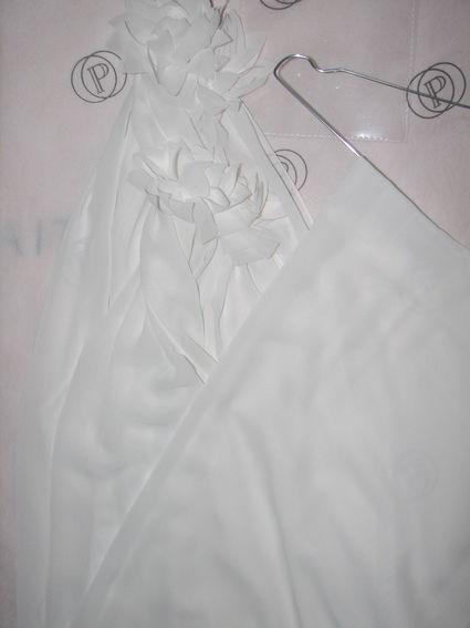 Robe mariée courte modèle Clap Pronuptia, chic et originale