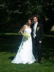 Robe de mariée bustier mousseline - Occasion du Mariage